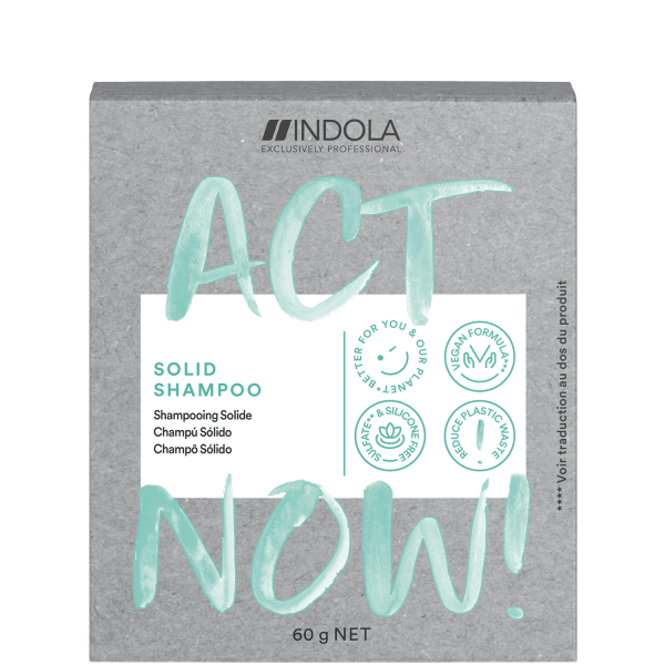 Act Now Solid Shampoo 60g