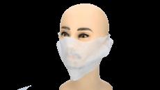 Spuckschutzmasken weiß 100 Stück