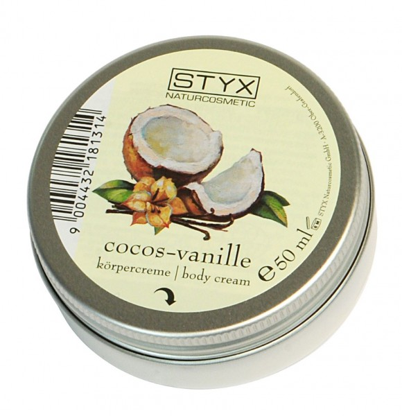 Cocos-Vanille Körpercreme 50ml