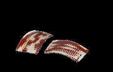 Haarkamm Celluloid gewellt 7 cm