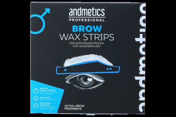 Andmetics Eye Brow Strips Men Big Box