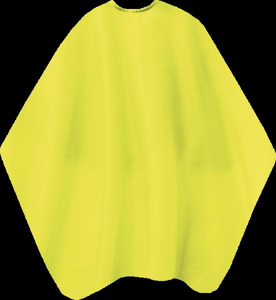 Schneideumhang Neon gelb