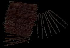 Haarnadeln 7 cm 250g braun