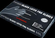 Black Gloves Small Latex 20 Stk.