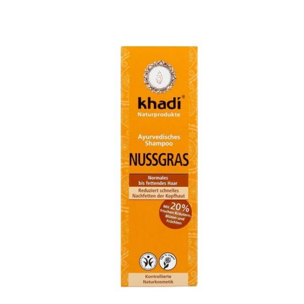 Khadi Shampoo Nußgras 210ml