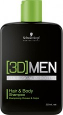 3D Men Hair&Body Shampoo 250ml