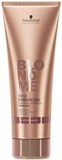 BlondMe Enh Bond Warm Blonde Sh 250ml