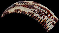 Haarkamm Celluloid Spaltzahn 12 cm