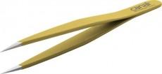 Canal Splitterpinzette gelb 95mm