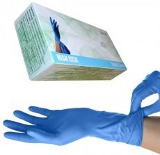 Nitril Handschuhe Super High Risk blau, M, 50 Stück