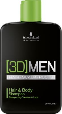 3D Men Hair&Body Shampoo 250ml