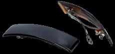 Haarspange 9 cm schwarz