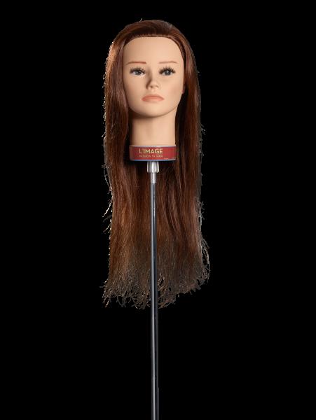 Übungskopf Fabienne ca. 50cm dunkelblond