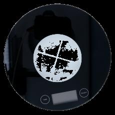 Digital Waage schwarz 0-5000g