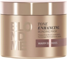 BlondMe Enh Bond Warm Blonde Maske 200ml