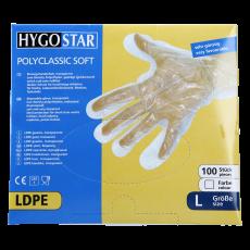 PAE-Handschuhe klar für Herren 100 Stk.