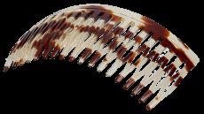 Haarkamm Celluloid Spaltzahn 9 cm