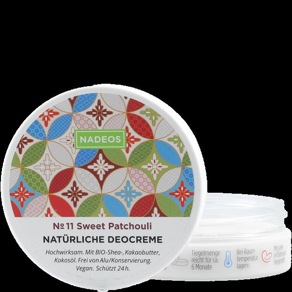 Natürliche Deocreme No 11 Sweet Patch