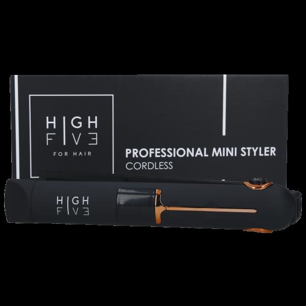 High Five Mini-Glätteisen USB-Kabellos