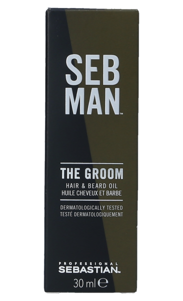Seb Man Hair & Beard Oil 30ml