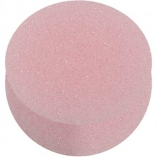 Schminkschwamm rund rosa in Blister