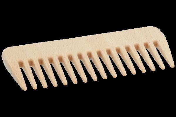 Frisierkamm Holz grob 13.5cm