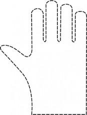 Einweghandschuhe 24 Stück Damen Glatt