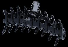 Haarklammer Elegant 12 cm schwarz