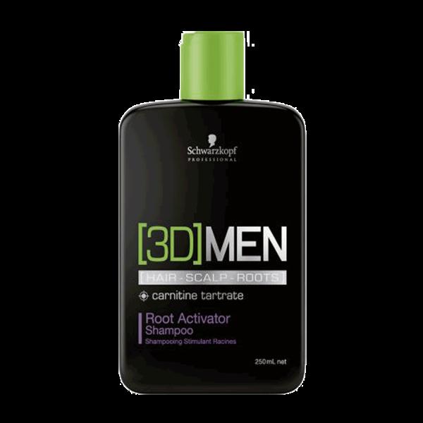 3D Men Activating Shampoo