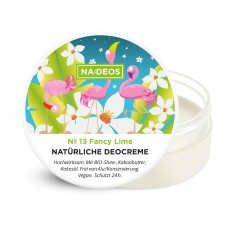 Natürliche Deocreme No 13 Fancy Lime