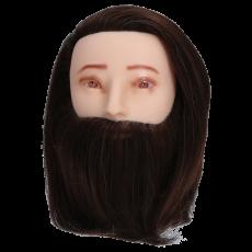 Übungskopf Standard Mann mit Bart