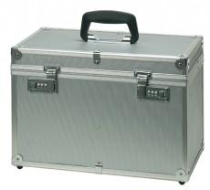 Werkzeugkoffer Aluminium silber