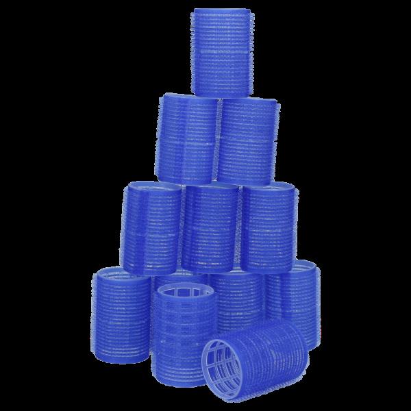 Haftwickler 40mm Groß Blau 12 Stk.