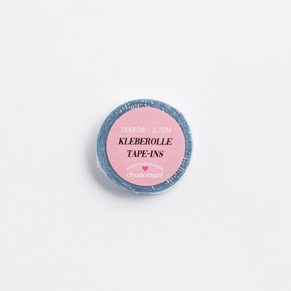 Kleberolle für PU-Extensions 1,2cm blue