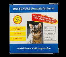 Bio Schutz Ungezieferband Katze dunkelbl