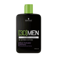 3D Men Activating Shampoo