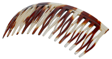 Haarkamm Celluloid Spaltzahn 8 cm