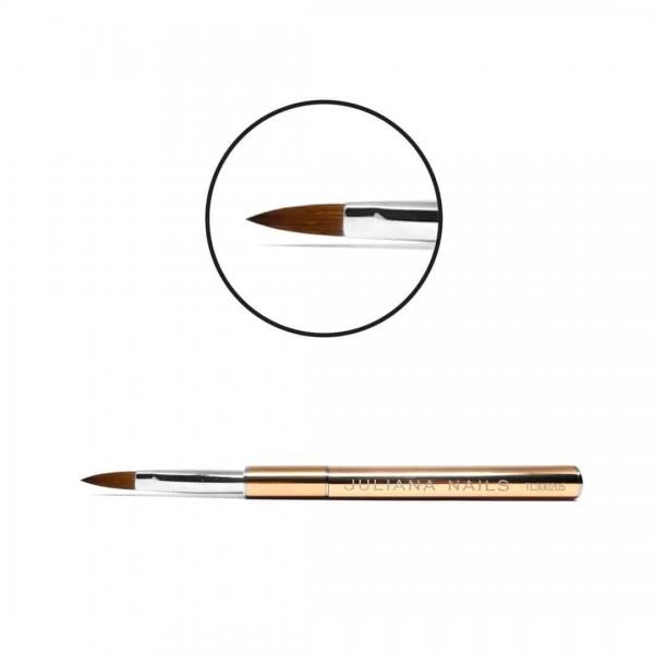Acrylpinsel No. 8 flach Juliana Nails