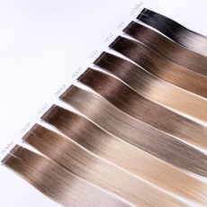 Ombre Tape-In Extensions Echthaar 50cm