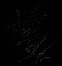 Haarnadeln 5 cm schwarz