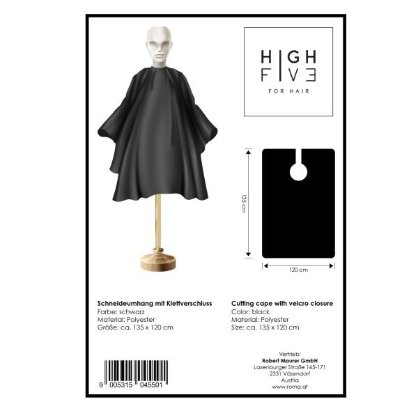 High Five Schneideumhang B schwarz