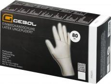 Latex Handschuhe ungepudert Gr.L 80Stk.