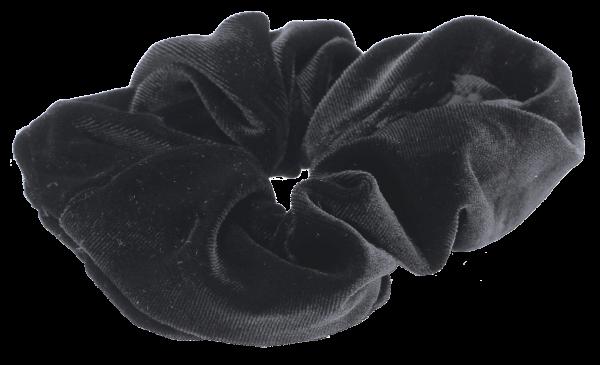 Samt Haargummi schwarz