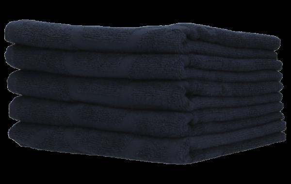 Indola Handtuch schwarz 5 Stk.