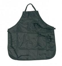 Färbeschürze schwarz verstellbar 2 Tasch