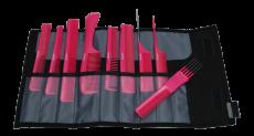 Kammset pink-metallic